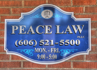 Peace Law Attorney Office Kentucky